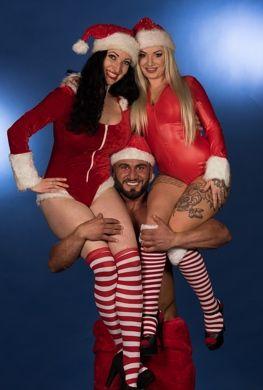 Kerst striptease