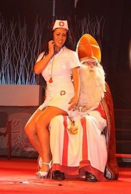 Sinterklaas striptease
