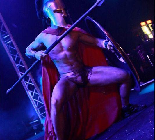 300 gladiator striptease show