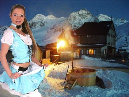Après ski striptease show