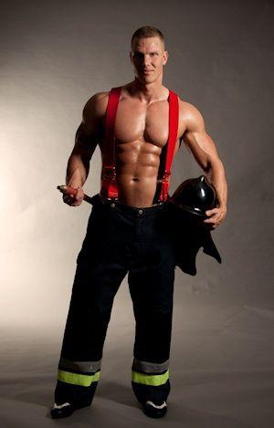 Brandweer stripper Lex