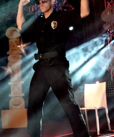 Police stripper