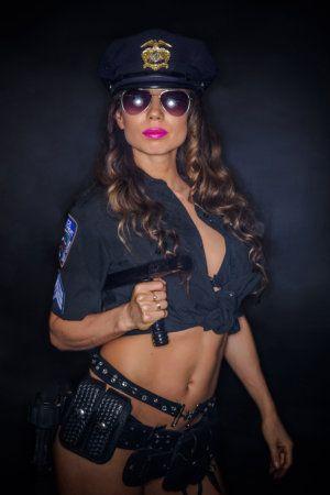 politie striptease