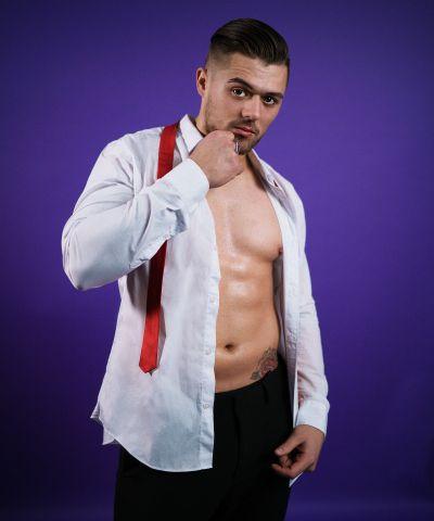 Stripper Ferdi als gentleman