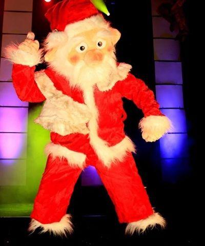 Stripper Jefrey als kerstman