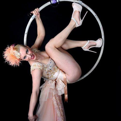 acrobatische ringen act